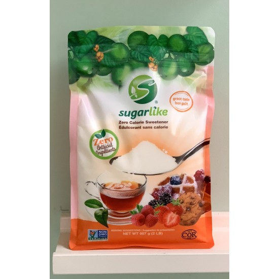 *NEW* SugarLike Zero Calorie Sweetener, Encapsulated with Monk Fruit (700G POUCH)
